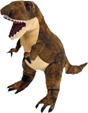 wild republic – peluche dinosaurio t rex 48 cm