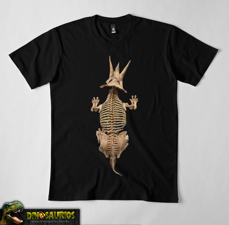 camiseta de dinosaurios fosil