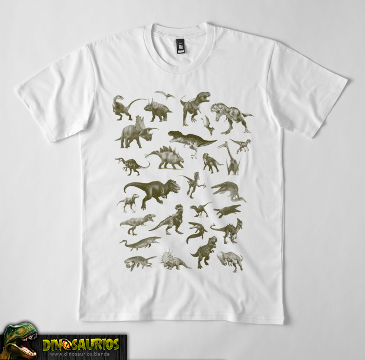 camiseta de dinosaurios