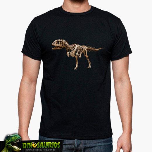 camiseta fosil de dinosaurios