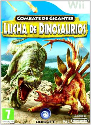 combate de gigantes lucha de dinosaurios