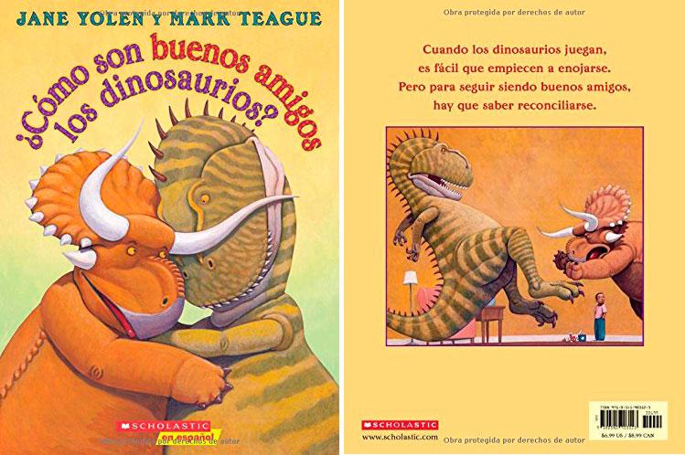 como son buenos amigos los dinosaurios