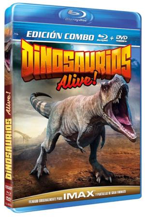 dinosaurios alive combo blu ray