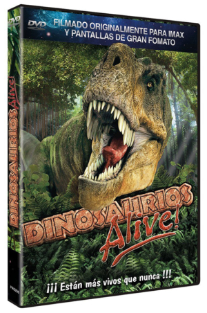 dinosaurios alive dvd