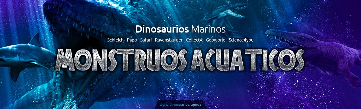 Dinosaurios marinos | Reptiles prehistóricos acuáticos