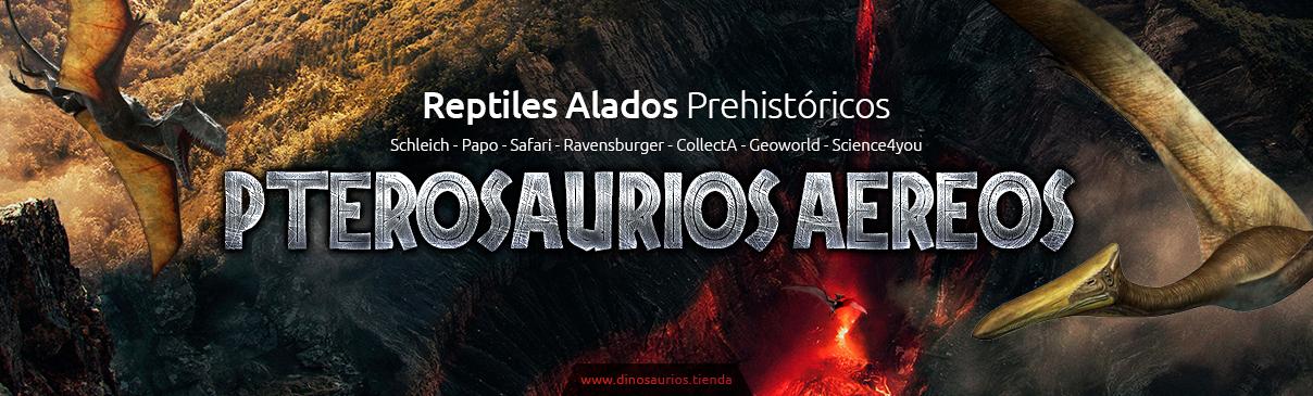 Dinosaurios voladores | Pterosaurios