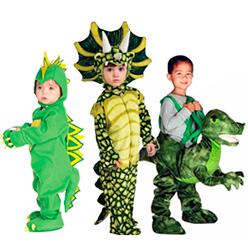 Disfraces de dinosaurios