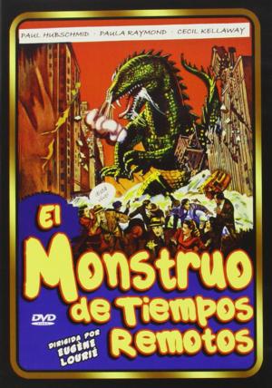 el monstruo de tiempos remotos dvd
