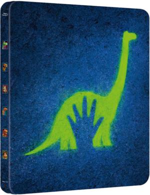 el viaje de arlo the good dinosaur edicion metalica blu ray