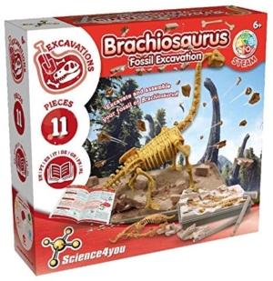 excavaciones fosiles science4you braquiosaurio