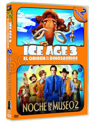 ice age 3 el origen de los dinosaurios noche en el museo 2 dvd