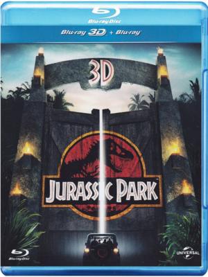 jurassic park 3d blu ray