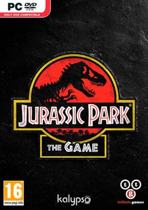 jurassic park the game pc dvd