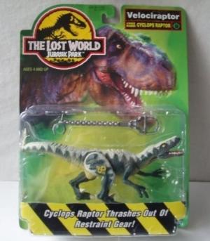 jurassic park the lost world velociraptor 2 original 1996 descatalogado