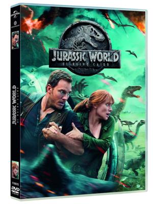 jurassic world 2 el reino caido dvd