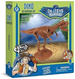 kit de excavacion carnotaurus palontologia geoworld