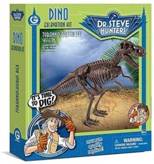 kit de excavacion geoworld steve hunters tyrannosaurus rex