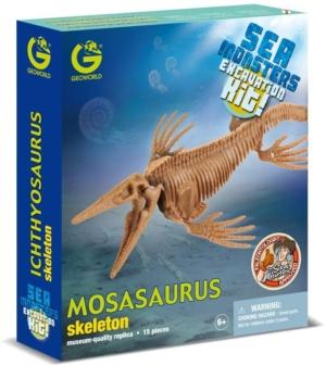 kit de excavacion monstruos marinos geoworld mosasaurus