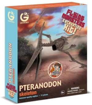 kit de excavacion monstruos voladores geoworld pteranodon