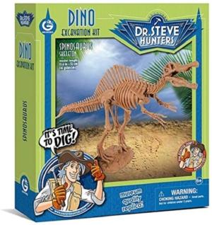 kit de excavacion spinosaurus palontologia geoworld