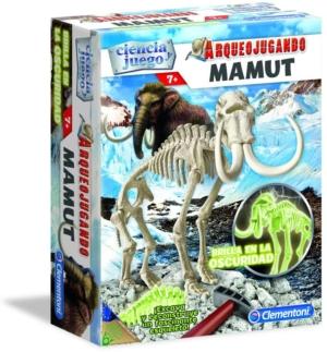 mamut fluorescente ciencia y juego clementoni arqueojugando 550272