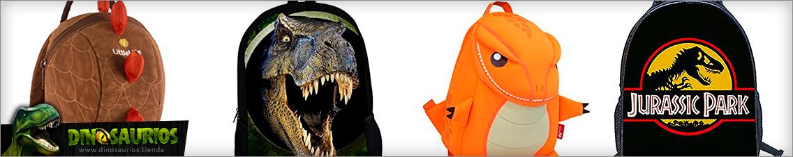 mochilas escolares de dinosaurios