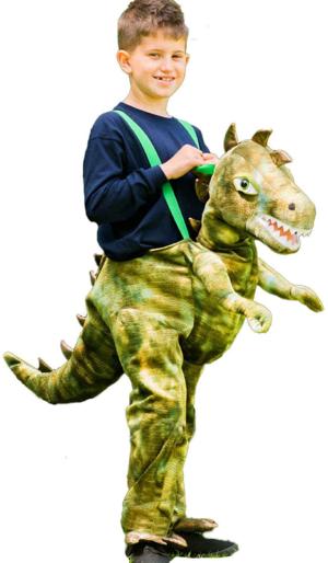 montura de dinosaurio a partir de 3 anos