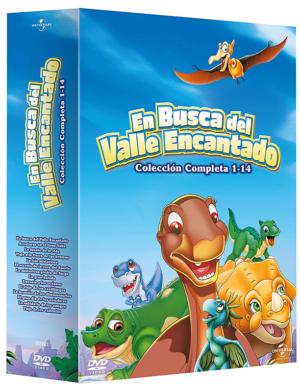 pack en busca del valle encantado dvd 14 peliculas