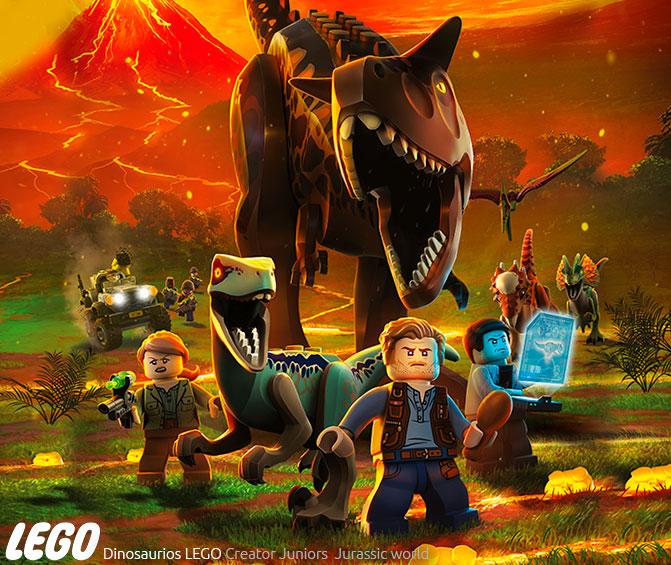 Playsets dinosaurios lego