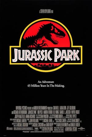 poster jurassic park 1993 steven spielberg