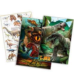 Posters de dinosaurios