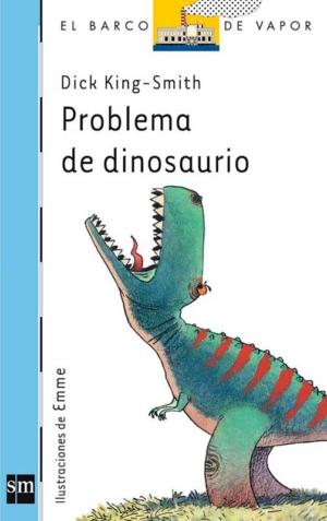 problema de dinosaurio barco de vapor azul