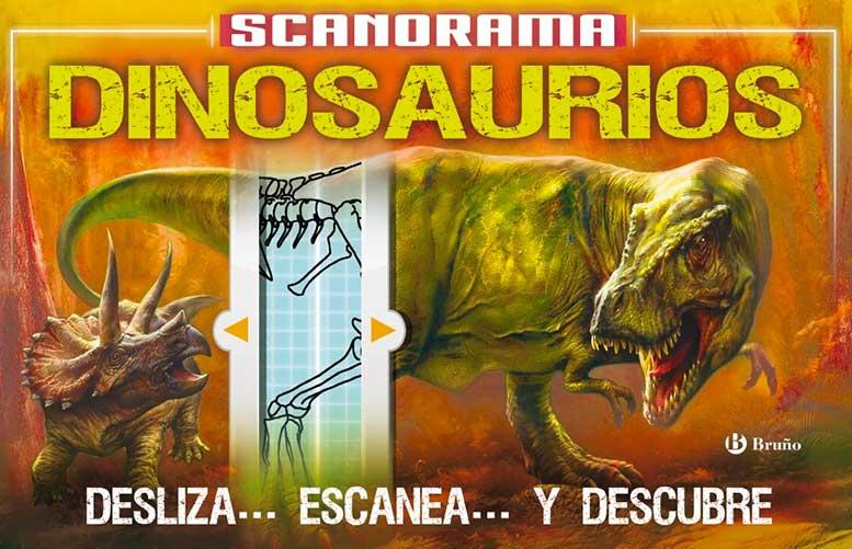 scanorama dinosaurios castellano a partir de 8 anos libros didacticos otros libros