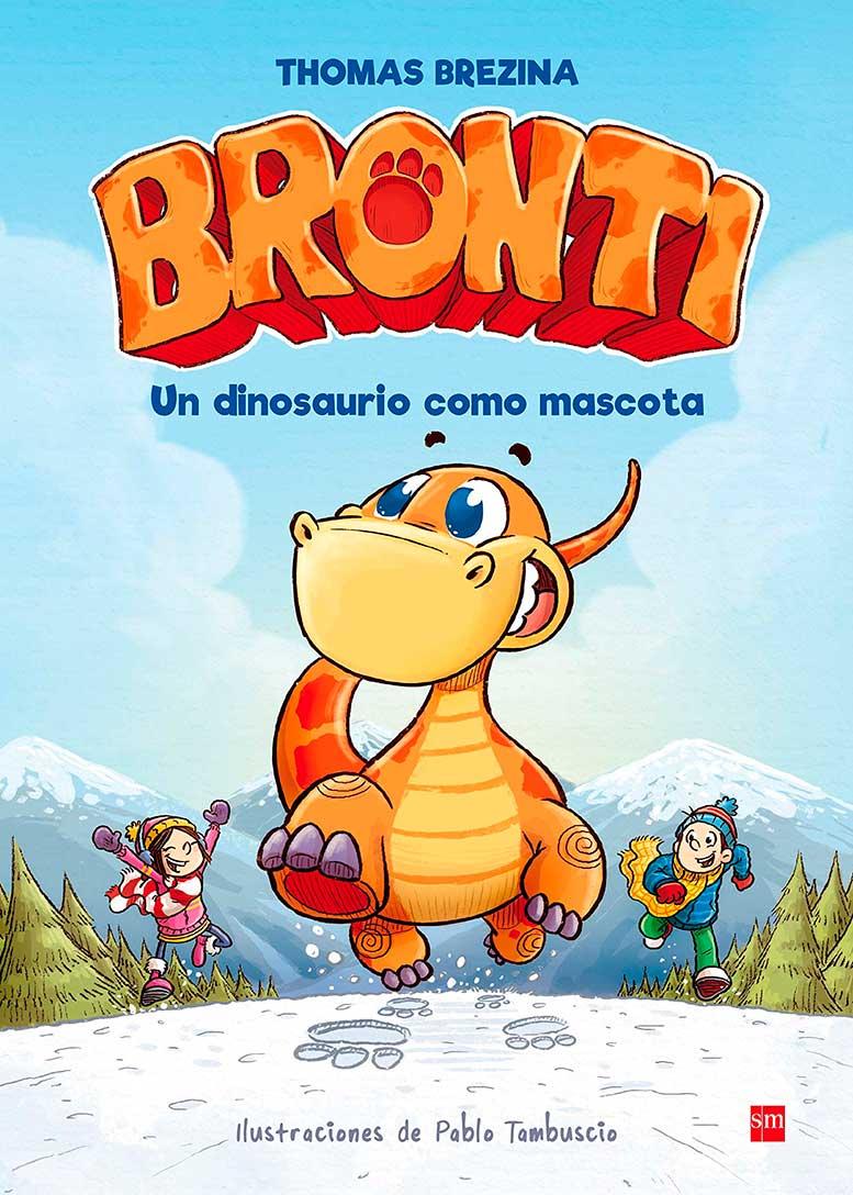 un dinosaurio como mascota bronti