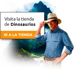 Haz clic para visitar la tienda de dinosaurios