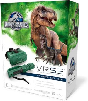 vrse jurassic world virtual reality gaming realidad virtual