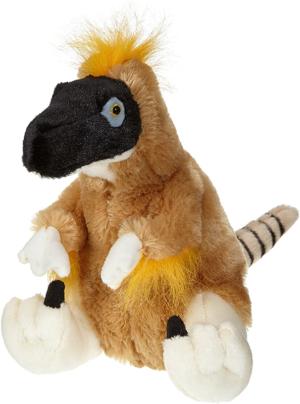 wild republic velociraptor dinosaurio de peluche 30 cm